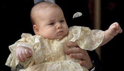 Cine sunt naşii prinţului George?