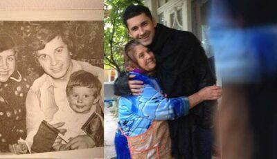 Dan Bălan a vizitat-o pe bunica!