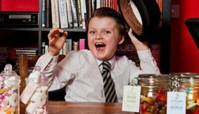 Un magnat al dulciurilor la numai nouă ani