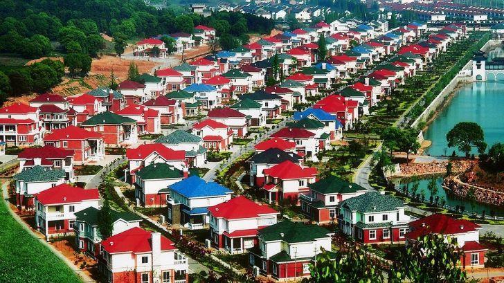 Vezi în ce sat taxiurile sunt elicoptere!