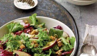 Salata de toamnă cu pere