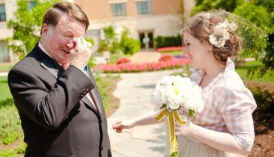 Poze emoționante de la nunți!