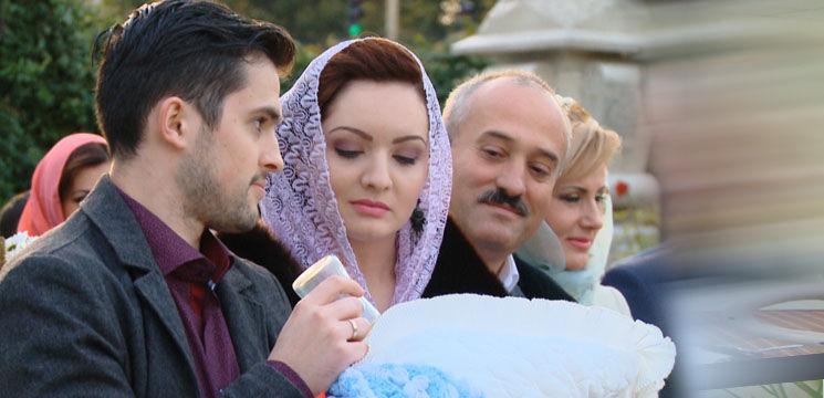 Foto: Botez, în familia lui Gheorghe Țopa!