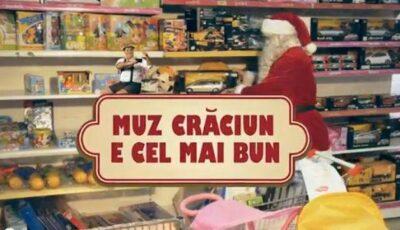 Muz Crăciun îți îndeplinește orice dorință!