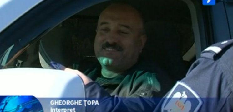 Foto: Gheorghe Țopa a primit o amendă neaşteptată!
