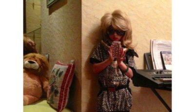 Fiica Anastasiei Volocikova o copiază pe mama!