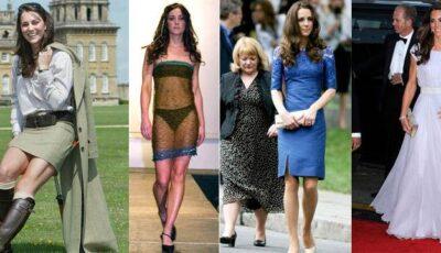 Kate Middleton, de la o studentă ștearsă la un stil regal!