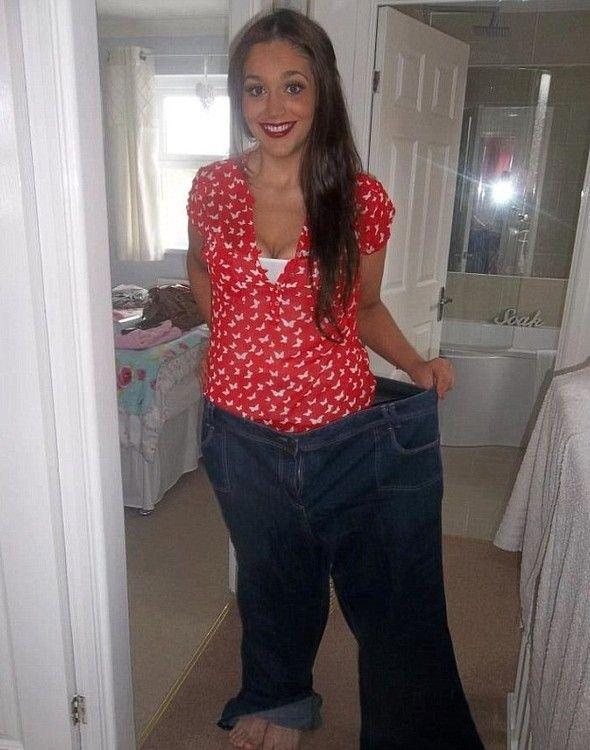 Află din ce cauză această femeie a slăbit 64 de kilograme!