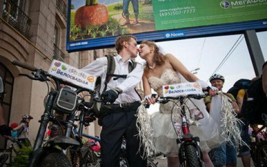 nunta pe bicicleta