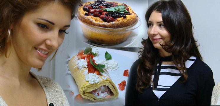Foto: Tania Cergă a pierdut bătălia deserturilor! Vezi cine s-a priceput mai bine la gătit!