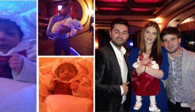 Fiica lui Adrian Ursu a fost creștinată!