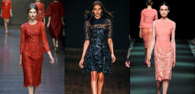 Pentru Revelion alege rochiile din dantelă!