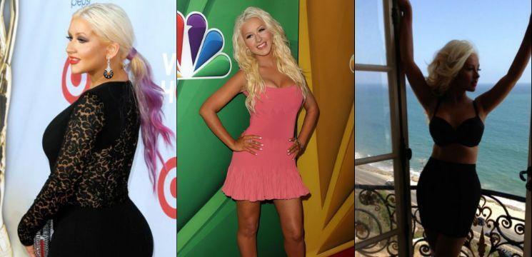 Foto: Christina Aguilera a slăbit prin metoda ședințelor Reiki!