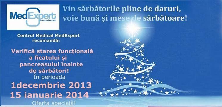 Ofertă specială de sărbători de la MedExpert!