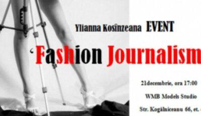 "Stilista Ylianna Danko te invită la ""Fashion Journalism"""