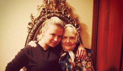 Ana Seminovici își arată familia