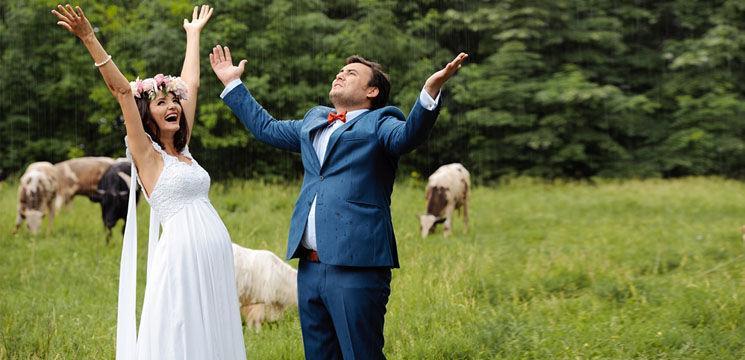 Nunţi celebre: Lilu şi Călin Roşca (Video)