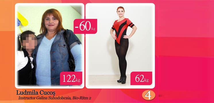 """Ludmila Cucoş: """"Am copii prea frumoşi ca să aibă o mama aşa grasă!"""""""