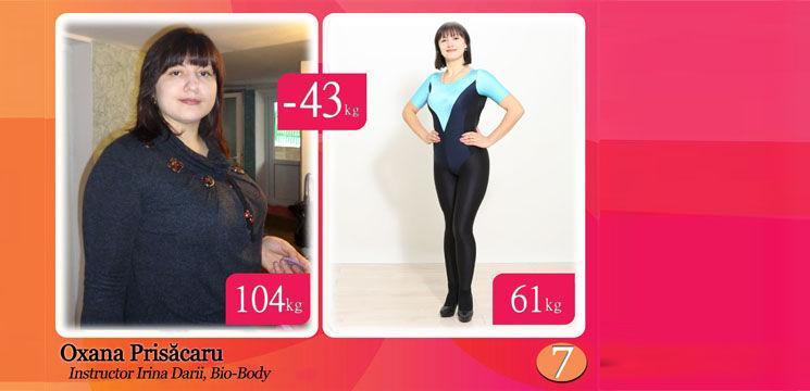 Oxana Prisăcaru: Viaţa nu i-a fost dulce când a ajuns să cântărească peste o sută de kilograme!