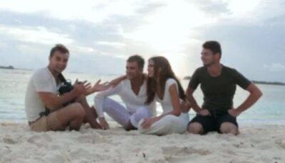 Așa s-a filmat videoclipul din Maldive