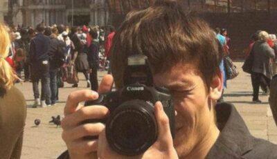 Fiul lui Iurie Leancă nu lasă aparatul foto din mâini!