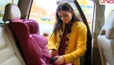 Poliţia rutieră verifică părinţii dacă au scaune de maşină pentru copii