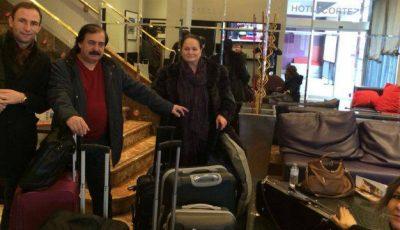 Ion Paladi,  nea Botgros și Ioana Căpraru și-au pregătit bagajele pentru Londra!