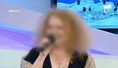O interpretă din România şi-a pierdut aproape tot părul, după ce a ţinut o dietă