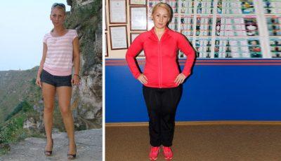 S-a îngrășat cu 17 kg, în doar 2 săptămâni!