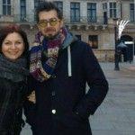 Foto: Geta Burlacu și Petru Haruța se simt bine în Europa!