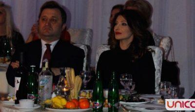 Angela Gonța și Vlad Filat, împreună,  la primul eveniment!