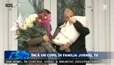 Prezentatoarea Jurnal TV, Maria Marian, a născut un băiat