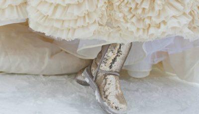 Pantofii de mireasă pentru sezonului rece