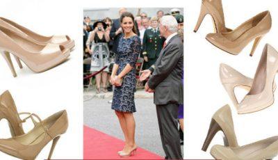 Kate Middleton îți recomandă pantofii nude!