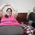 Foto: Femeia care cântărește  340 de kilograme și-a găsit perechea perfectă!