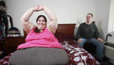 Femeia care cântărește  340 de kilograme și-a găsit perechea perfectă!