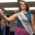 Foto: Lenuța Burghilă a devenit Miss GrandMa Star of Universe 2014 în Bulgaria!