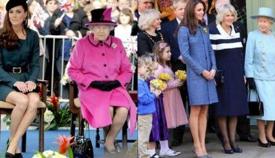 Kate Middleton cu fundul la vedere!