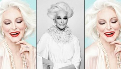 Carmen Dell'Orefice, fotomodel la 84 de ani!