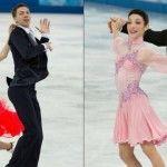 Foto: Patinatoarele  fac show în costumele de la Olimpiadă!