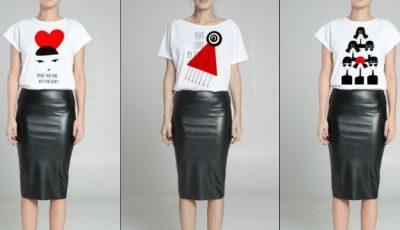 Andreea Raicu a lansat o colecție de tricouri de Ziua Îndrăgostiţilor!
