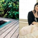 Foto: Jasmin, îndrăgostită de…yoga!