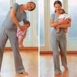 Foto: Gimnastică pentru mami și bebe