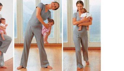 Gimnastică pentru mami și bebe