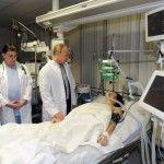 Foto: Schioarea olimpică Maria Komissarova nu-şi mai simte corpul, după ce şi-a fracturat coloana la Jocurile Olimpice