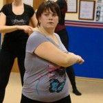 Foto: Dansatoarea care a ajuns să cântărească sub 100 de kg!