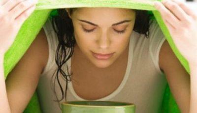 Beneficiile inhalaţiilor cu abur