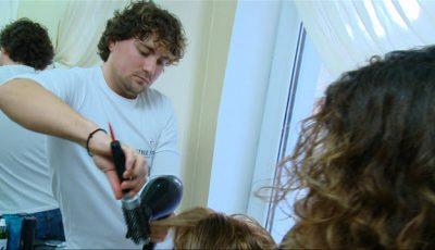 Hair-stilistul Ion Țurcan și-a surprins plăcut clientele!