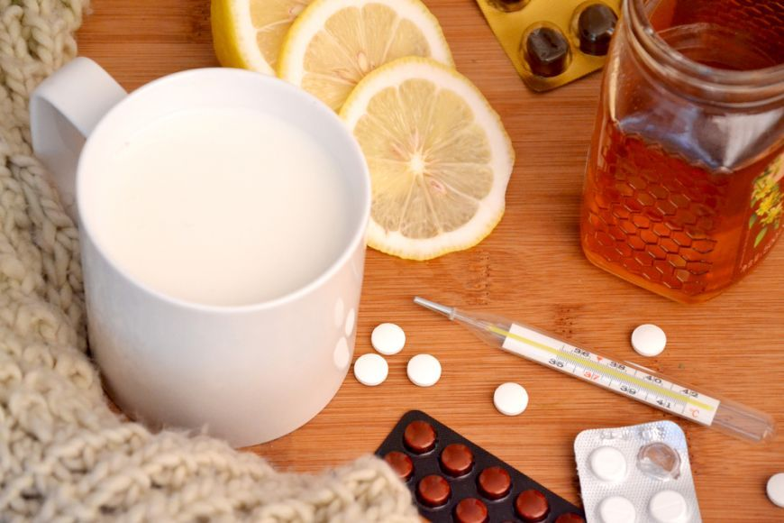 Foto: Ce să nu mănânci când eşti răcită