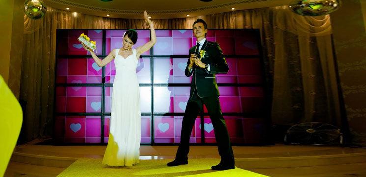 Foto: Nunţi celebre: Anna şi Mircea Marco (Video)
